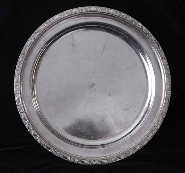 Kitchen - Salvaged Waldorf Astoria Art Deco 12 in. Serving Tray