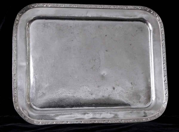 Kitchen - Salvaged Waldorf Engraved WA 18 in. Serving Tray