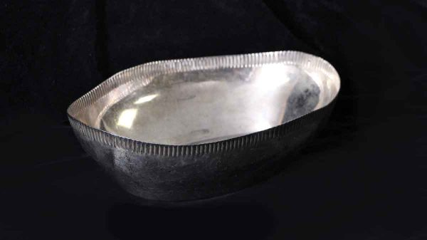 Kitchen - Salvaged Waldorf Scalloped Oval Serving Bowl