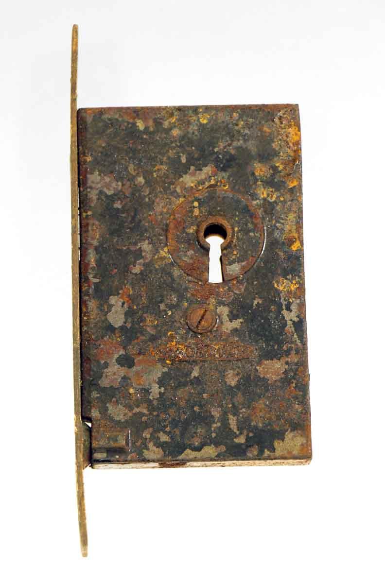 Antique Pocket Door Handles & Corbin Lock Set - Antique Pocket Door Handles & Corbin Lock Set Olde Good Things