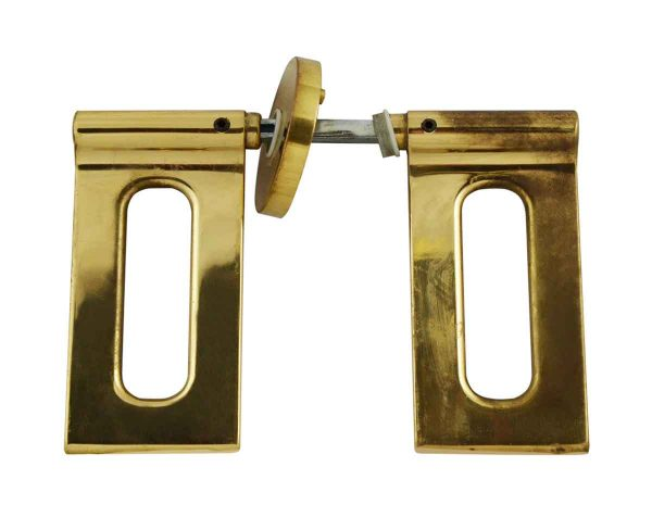 Levers - Italian Modern Brass Door Lever Set