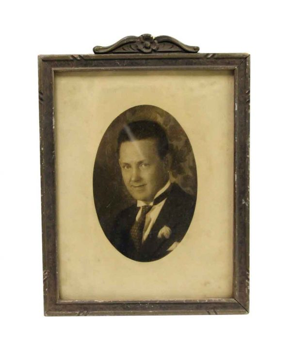 Photographs - Vintage Oval Matted Gentleman's Portrait