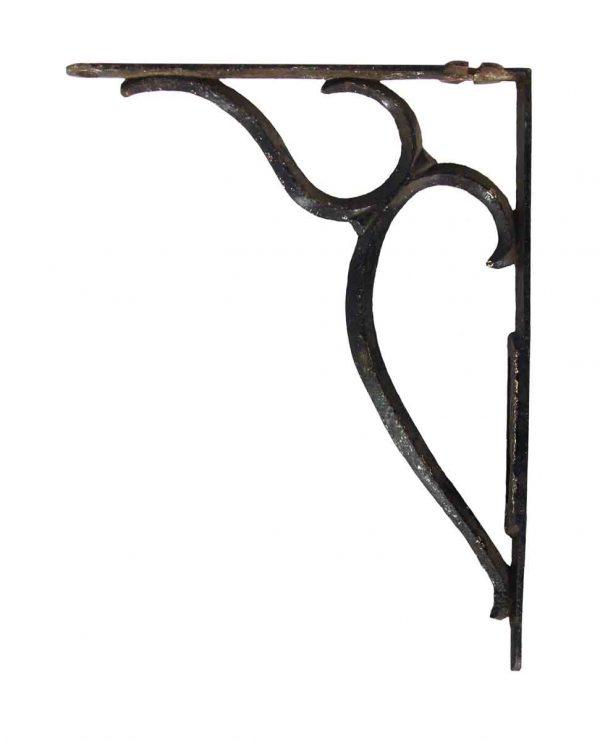 Shelf & Sign Brackets - Pair of Vintage Iron Shelf Brackets