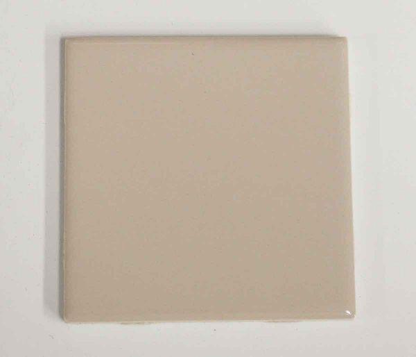 Wall Tiles - Vintage Tan Colored 1950s Bathroom Tile