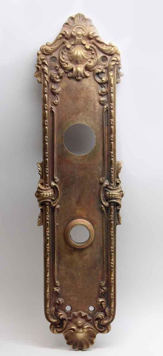 Back Plates - Antique Cast Bronze Italian Renaissance Style Back Plate