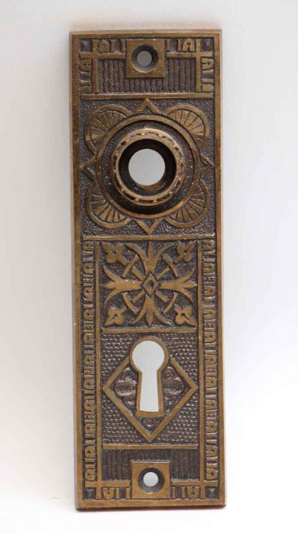 Back Plates - Eastlake Bronze Back Plate with Keyhole