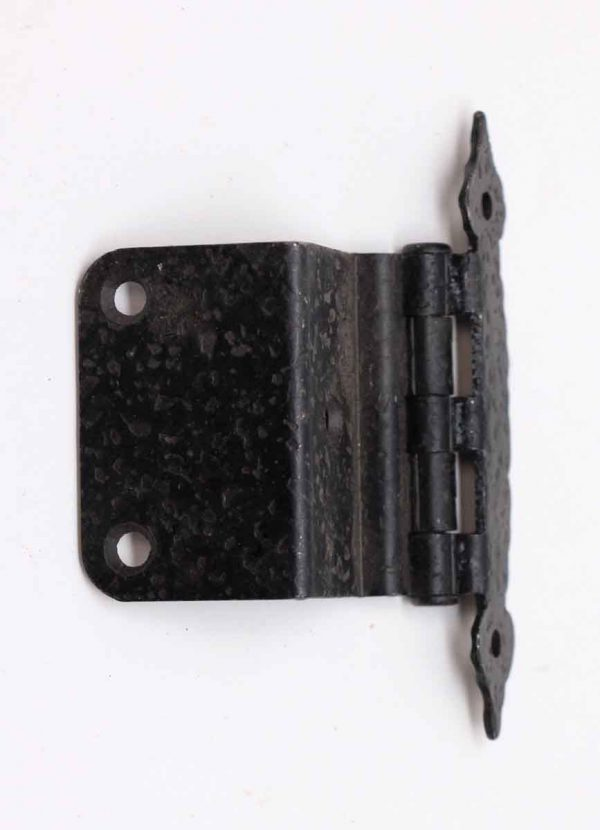 Cabinet & Furniture Hinges - Arts & Crafts Black Cast Iron Hinge