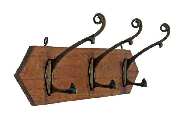 Coat Racks - European Jugenschtill 3 Hook Rack