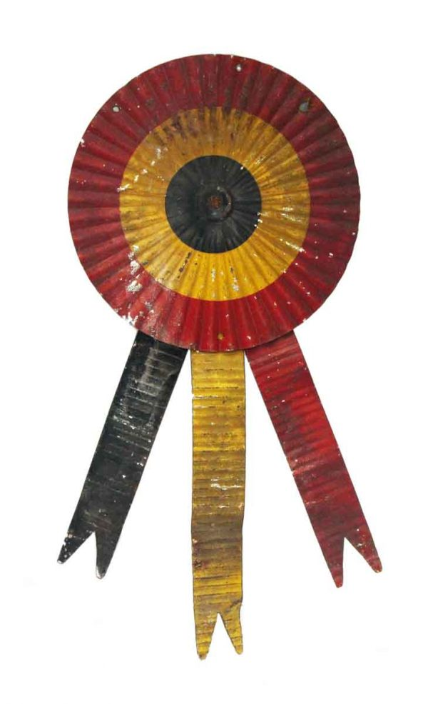 Decorative Metal - European Red Yellow & Black Metal Ribbons