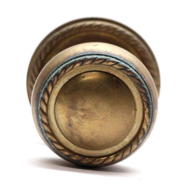 Door Knob Sets - Large Brass Door Knob with Rosette