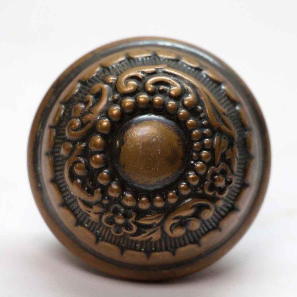 Door Knobs - Antique Asymmetrical Russell & Erwin Arabian Bronze Door Knob