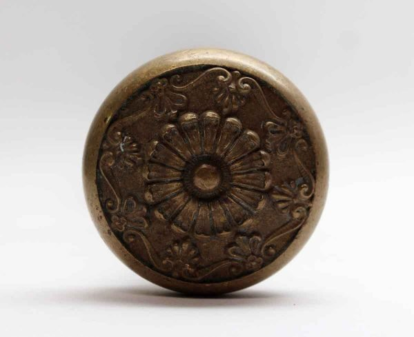 Door Knobs - Antique Bronze Greek Entry Corbin Door Knob Set