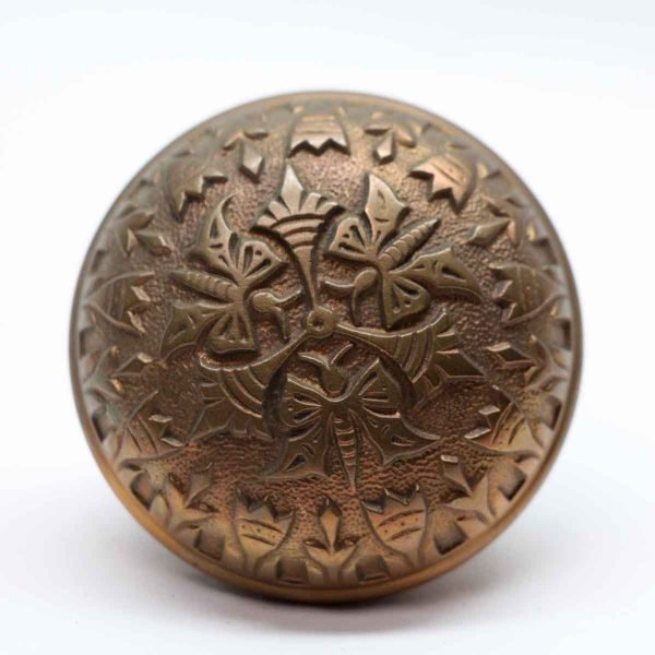 Door Knobs - Antique Bronze Vernacular Norwalk Door Knob