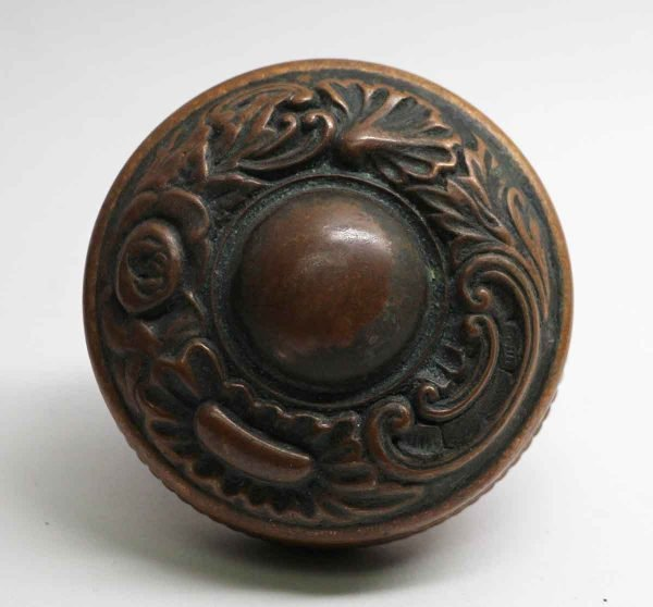 Door Knobs - Antique Corbin Bronze Entry Door Knob