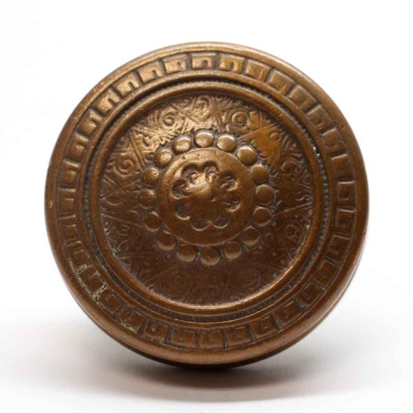 Door Knobs - Antique Vernacular Schroder Bronze Door Knob