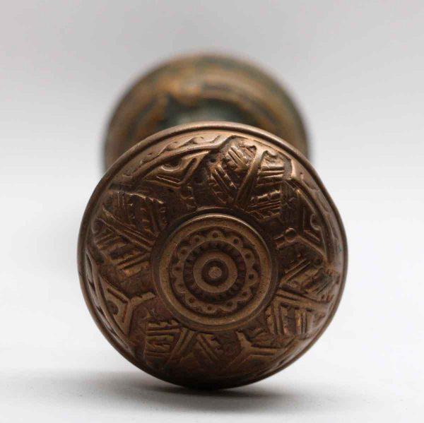 Door Knobs - Bronze Corbin Pair of Vernacular Door Knob Set