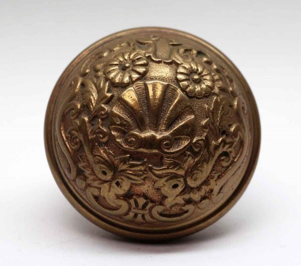 Door Knobs - Cast Brass Spanish Renaissance Corbin Entry Door Knob
