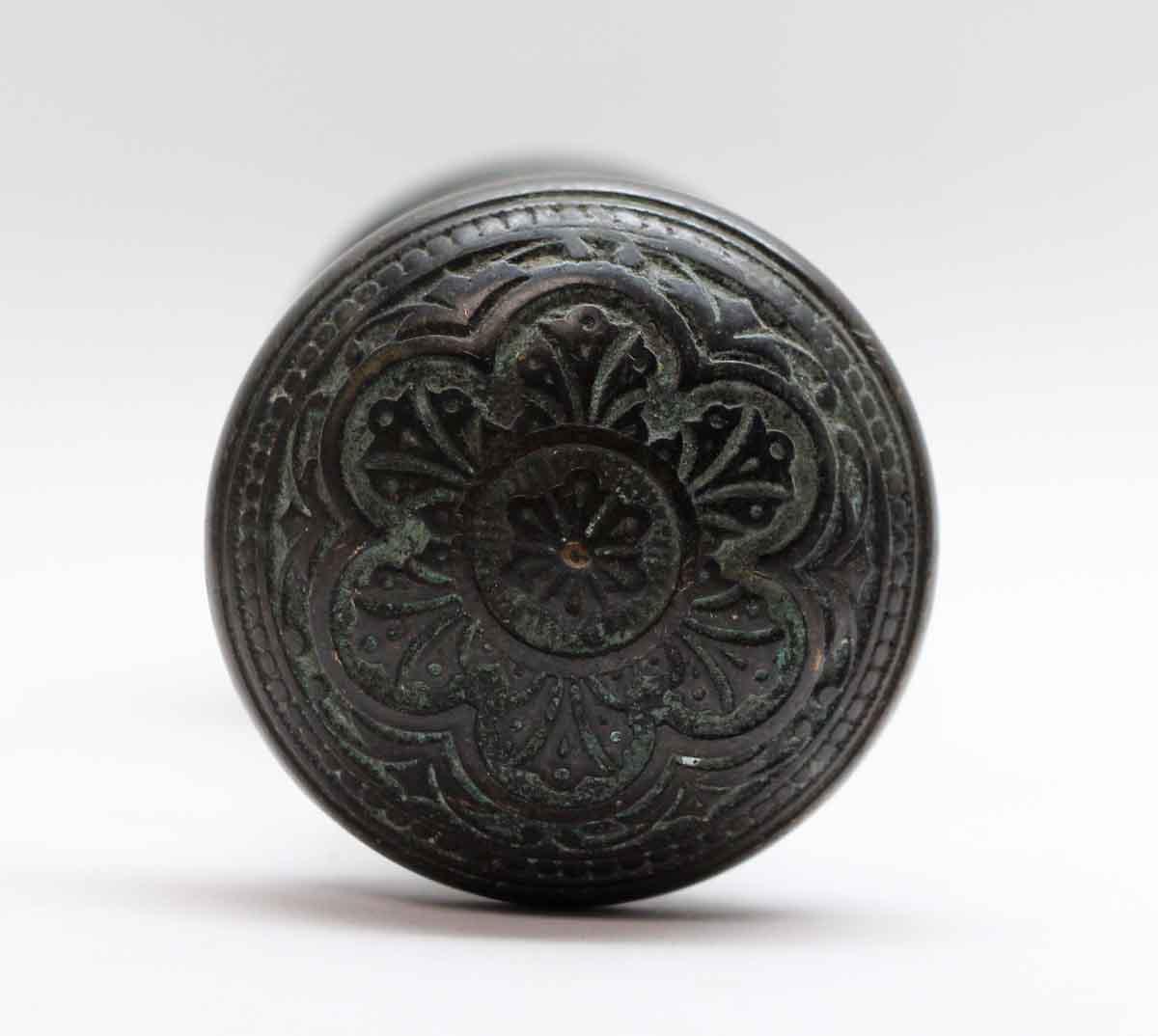 Pair of Black Patina Vernacular Bronze Corbin Door Knobs | Olde Good ...