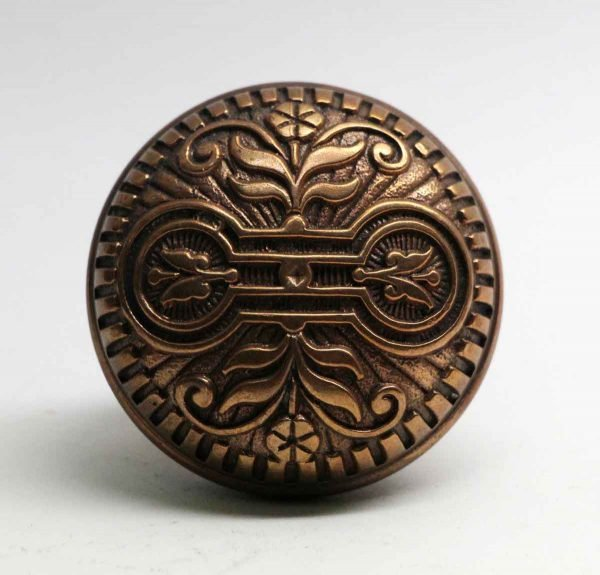 Door Knobs - Polished Bronze Salem Vernacular 2 Fold Door Knob