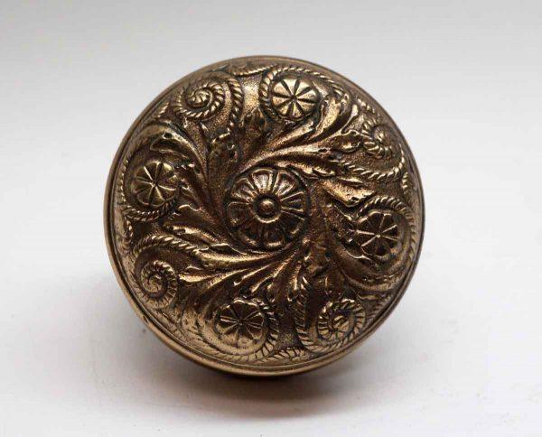 Door Knobs - Single Polished Bronze Vernacular Reading Door Knob