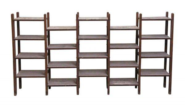 Flea Market - Twenty Section Wooden Display Storage Unit 2