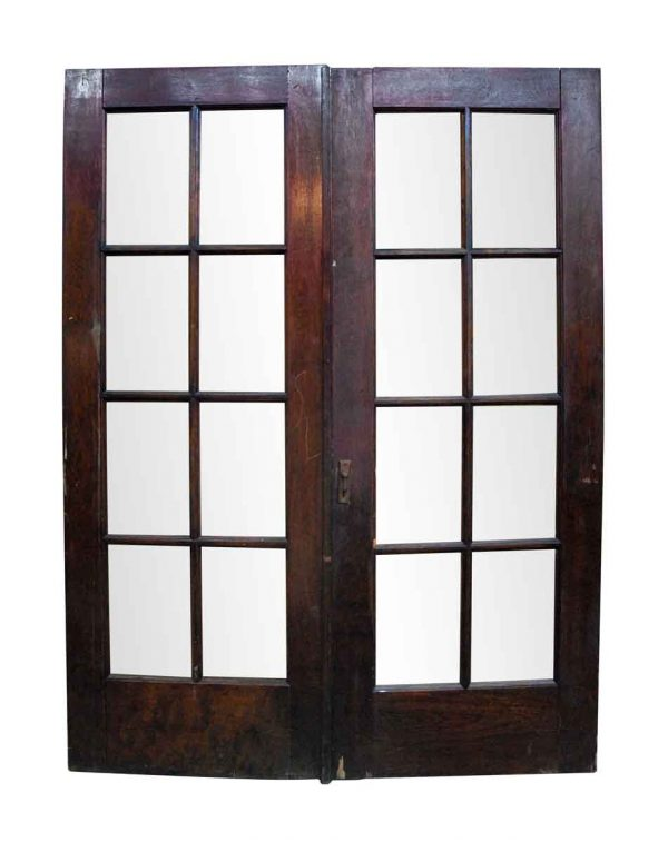 French Doors - Pair of Birch French Style Double Doors