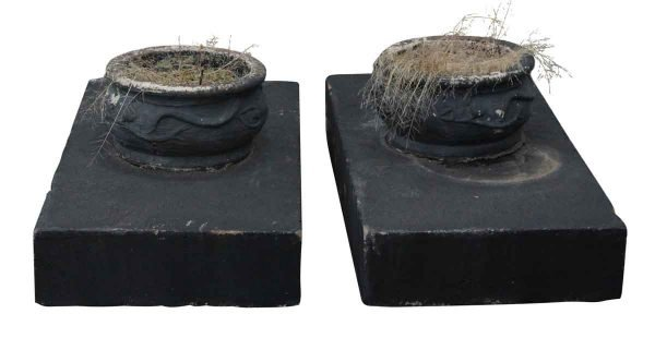 Garden Elements - Vintage Planters with Great Patina