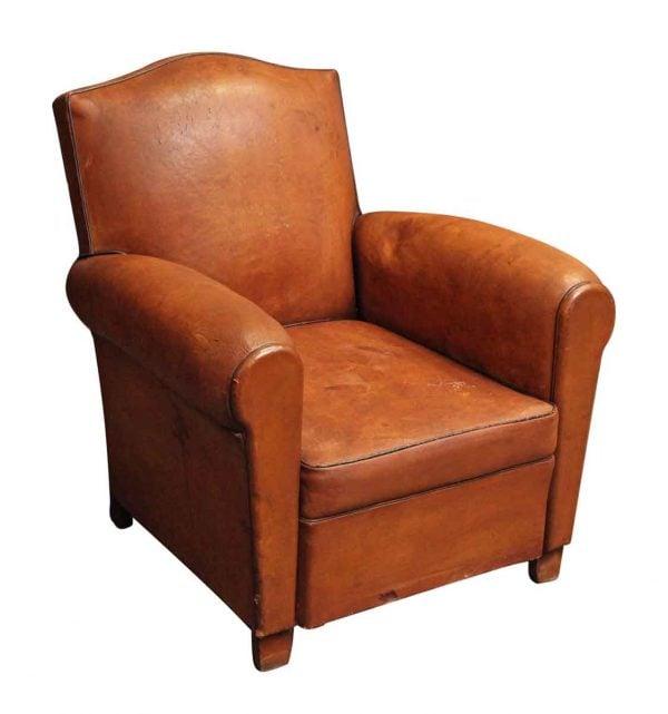Living Room - European Leather Single Club Chair