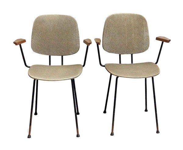 Office Furniture - Pair of European 1960s Skai Chairs