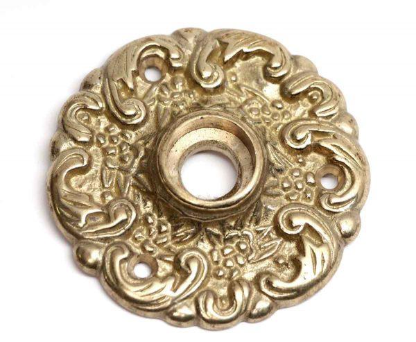 Rosettes - Polished Brass Ornate Rosette