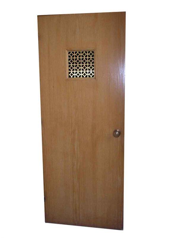 Specialty Doors - Oak Chapel Door with Knuckle Hinges