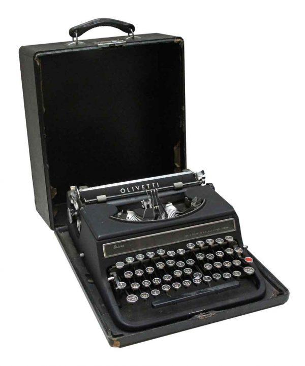 Typewriters - European Olivetti Typewriter
