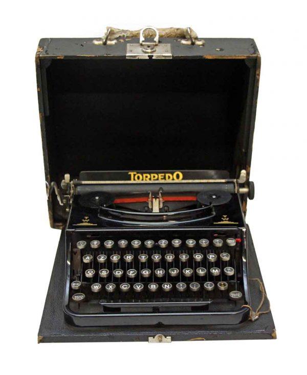 Typewriters - European Torpedo Typewriter