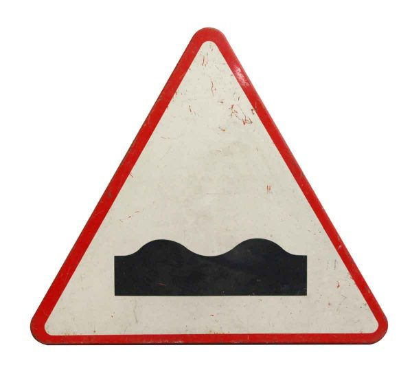 Vintage Signs - European Vintage Road Sign