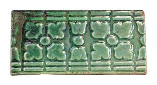 Wall Tiles - Antique Green Geometric Tile