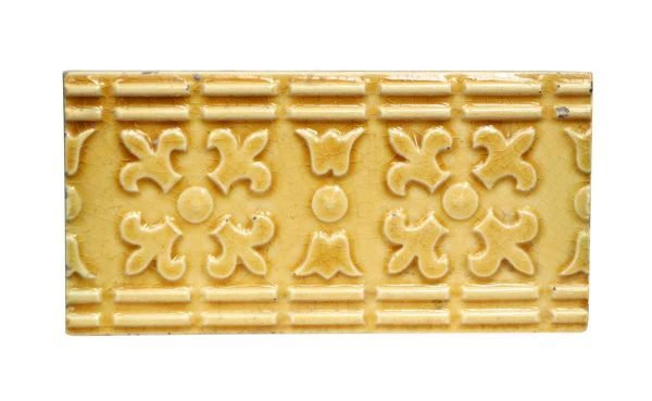 Wall Tiles - Antique Yellow Geometric Tile Set