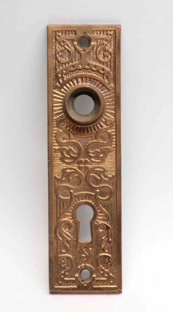 Back Plates - Antique Polished Bronze Taylor & Boggis Door Plate