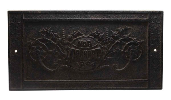 Decorative Metal - Cast Iron Orchard No. 9 Plate