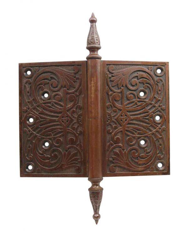 Door Hinges - Bronze 6 x 8 Steeple Tip Hinge