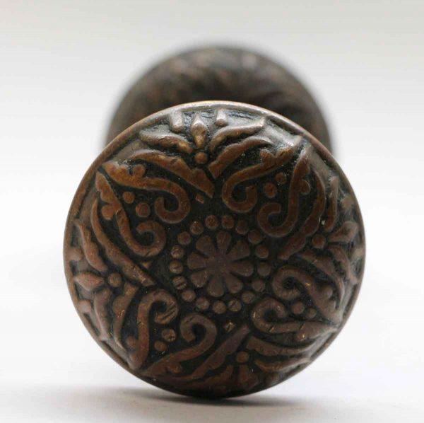 Door Knobs - 4 Fold Bronze Vernacular Door Knob Set
