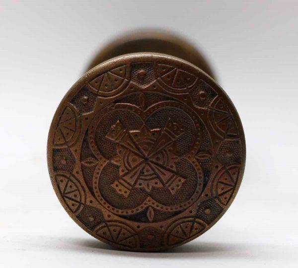 Door Knobs - Antique Bronze Nimick & Brittan Bronze Matlese Door Knob Set
