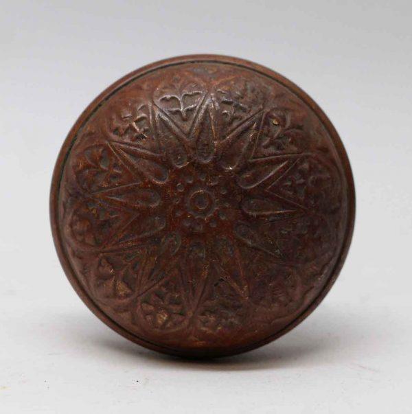 Door Knobs - Antique Bronze Vernacular Lockwood Radial Door Knob