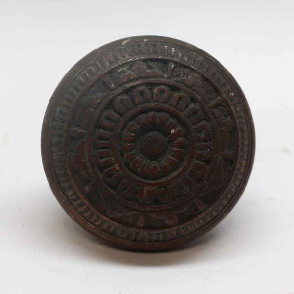 Door Knobs - Antique Norwich Vernacular Bronze Door Knob