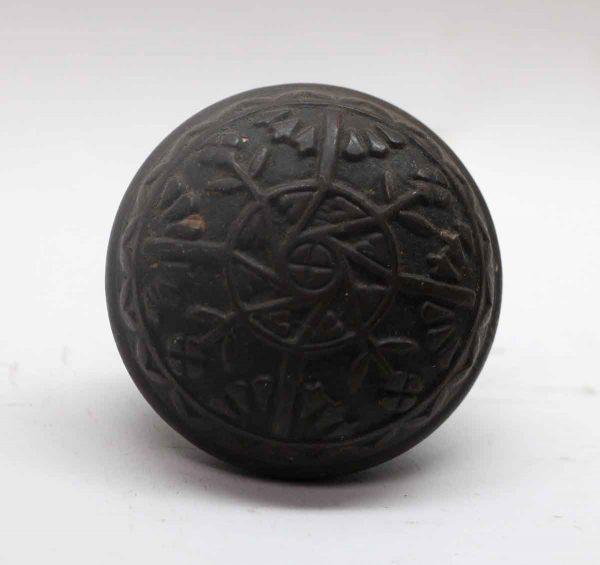 Door Knobs - Antique Penn Dark Bronze Magnolia Door Knob