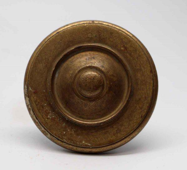 Door Knobs - Antique Round Concentric Brass Door Knob