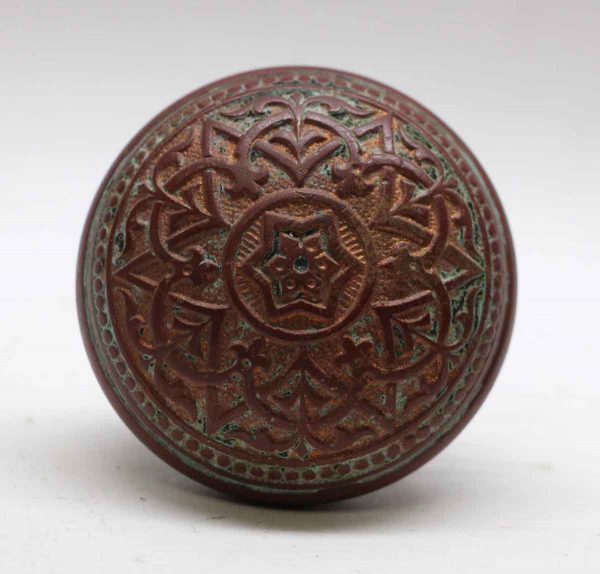 Door Knobs - Antique Trenton Vernacular Bronze Door Knob