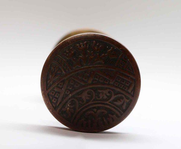 Door Knobs - Asymmetrical Corbin Ceylon Bronze Door Knob Set