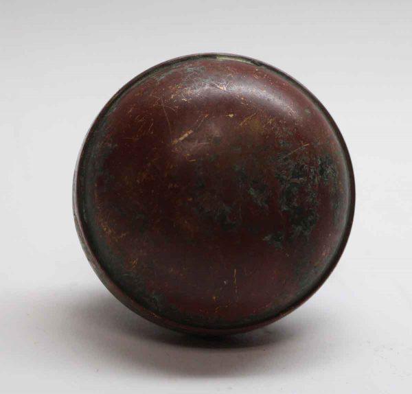 Door Knobs - Basic Round Bronze Single Door Knob