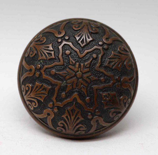 Door Knobs - Bronze 6 Fold Branford Vernacular Star Door Knob