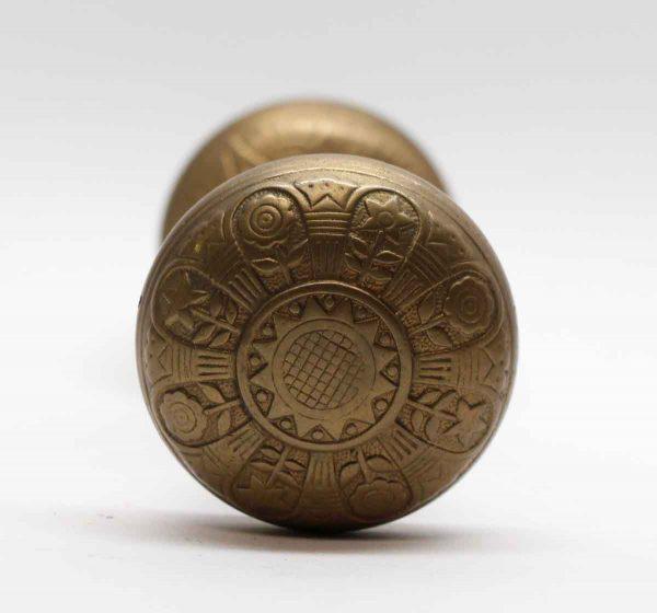 Door Knobs - Bronze Nashua Vernacular Door Knob Set